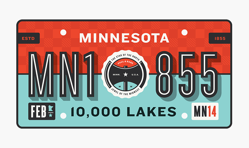 State Plates Project  |   Minnesota  by Allan Peters
