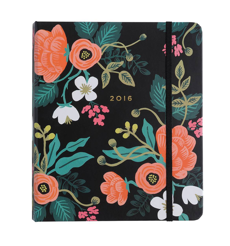 Birch Floral Planner  by  Rifle Paper Co.