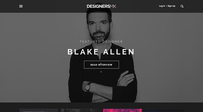 DesignersMX  homepage
