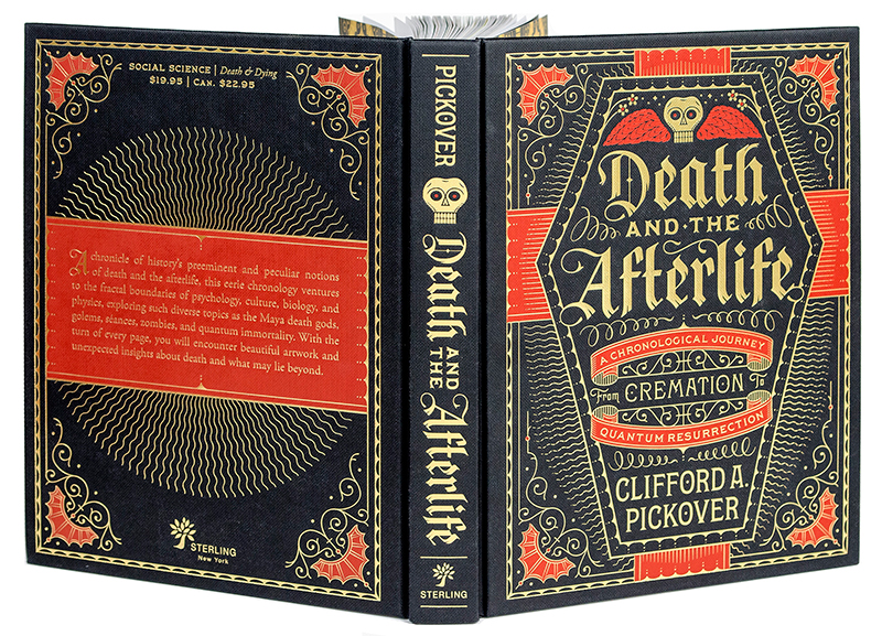 Cover Design by Spencer Charles for Death and the Afterlife