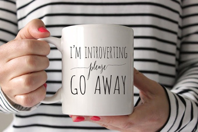 Introvert Coffee Mug