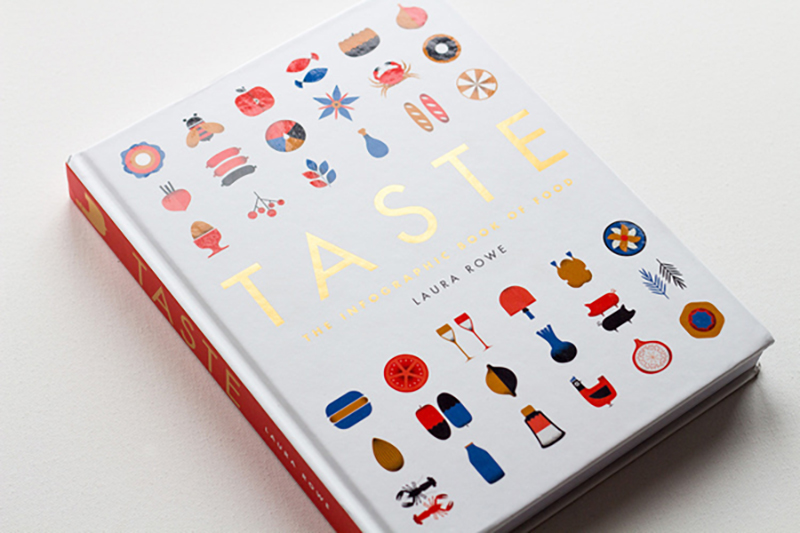 Taste: The Infographic Book of Food  | Cover