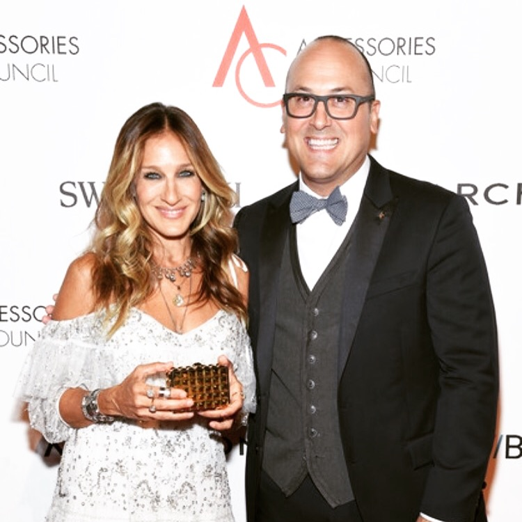 Sarah Jessica Parker with Frank Zambrelli at the 2016 Ace Awards
