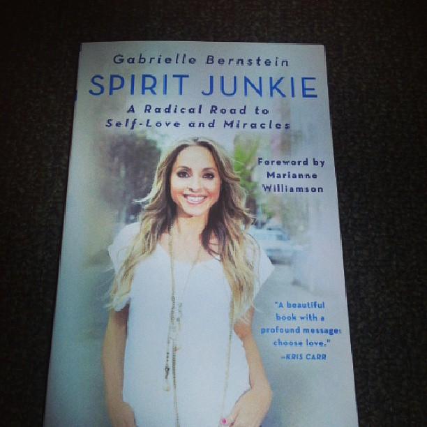 Currently reading Spirit Junkie, what are you reading now? #goodreads #book #summerread #instagram #instagood