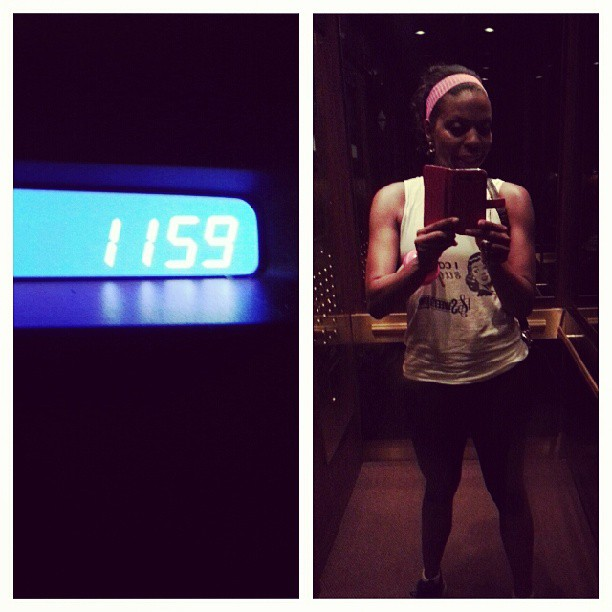 Midnight workout, thank god for @24hourfitness. #workout #fitandhealthy #instagood #sweat #midnight