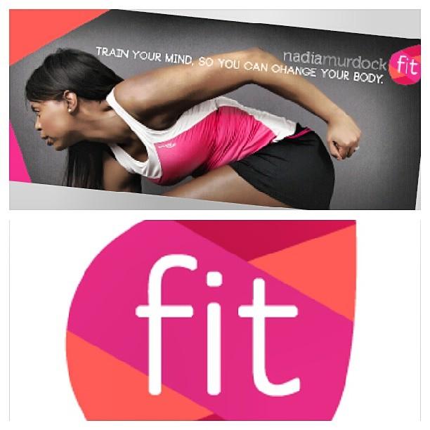 Loving my new logo! Follow me on Facebook @NadiaMurdockFit. #trainyourmindchangeyourbody #fitness #mind #fitnesshurdles #body