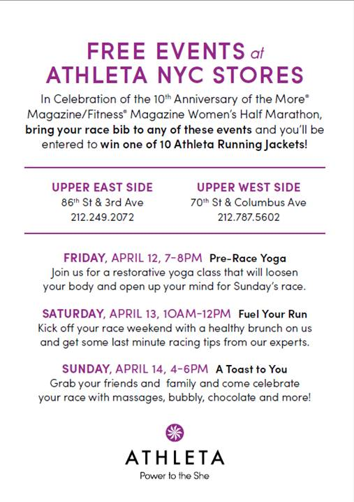 #Athleta #Marathon #Fitness