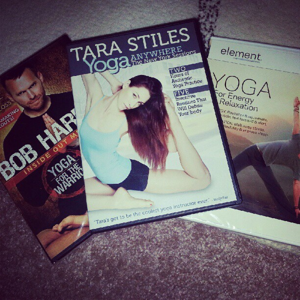 I am going to attempt to do yoga once a day. #yoga #fitness #fitnessaddict #fit #tarastiles #mytrainerbob #bobharper