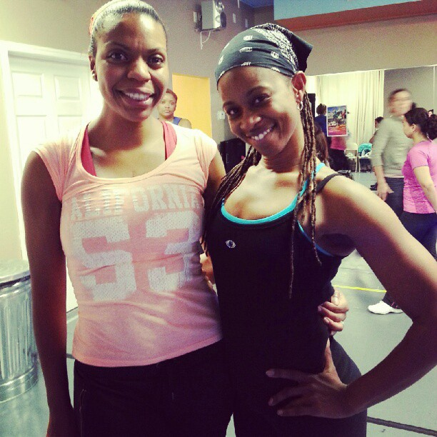 Cocoa Zumba ladies! (@empowerfitchick and I). #Zumba #dance #fit #fitness #fitnessaddict #workout