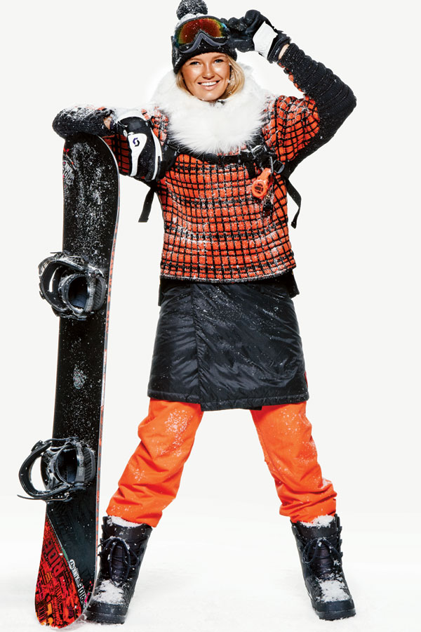 teenvogue: Give skiwear the reboot in the season's chill looks » Perfect for snowboarding!