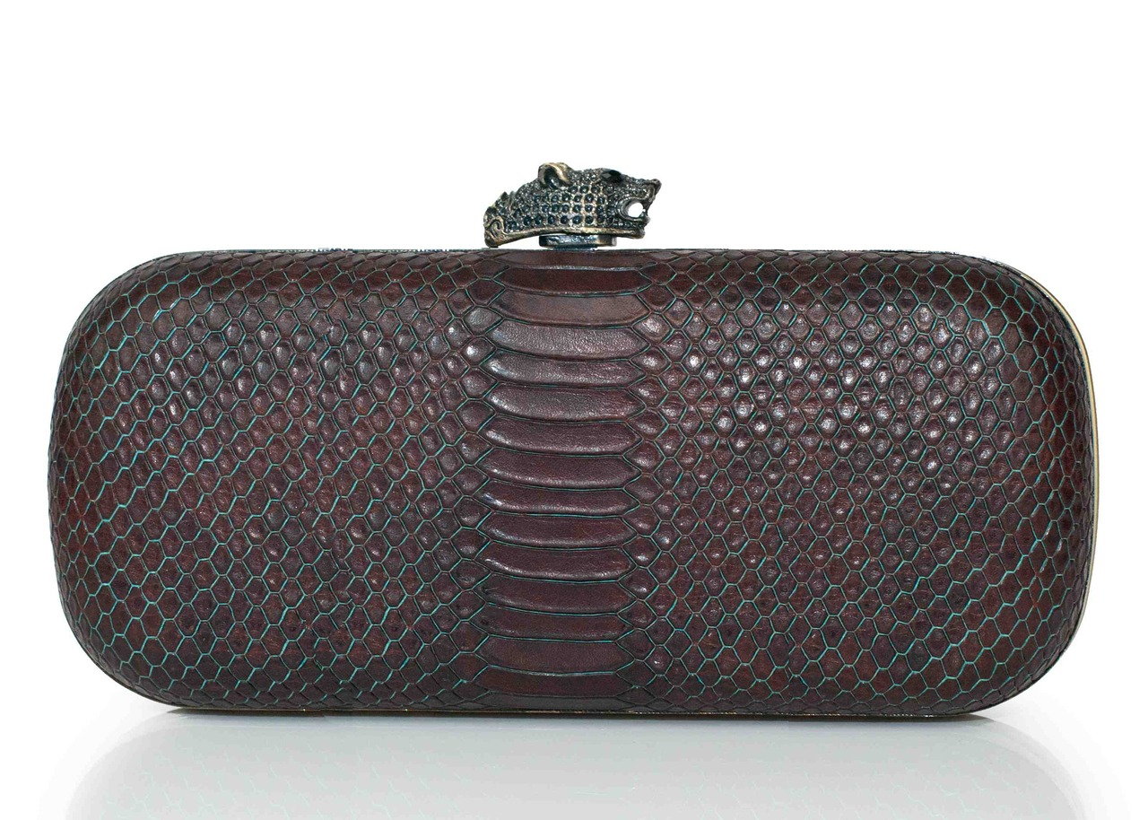 glamour :     A chic new addition to the ever-expanding line of exclusives on Gwyneth Paltrow's GOOP website.    House of Harlow 1960 for GOOP clutch, $225,  goop.com