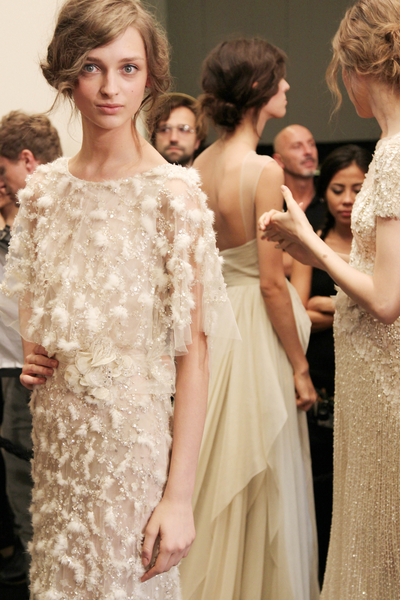 mancunianwh0re: Elie Saab Fall Couture 2011 : Backstage