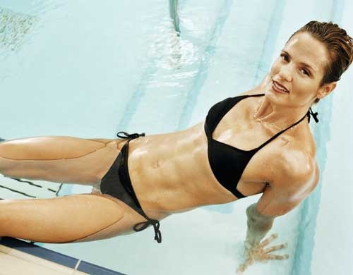 Killer Abs!  Read my one on one interview with Dara Torres by clicking here!