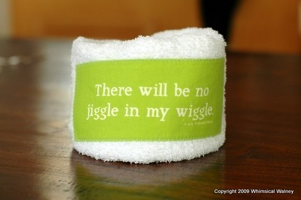 Words To Sweat By towel