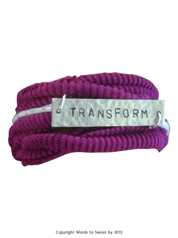 Words To Sweat By Transform Bracelet