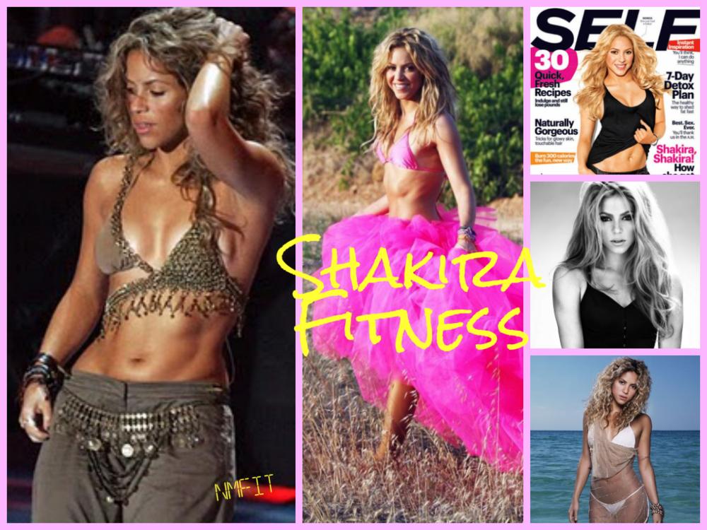Fitspiration: Shakira!