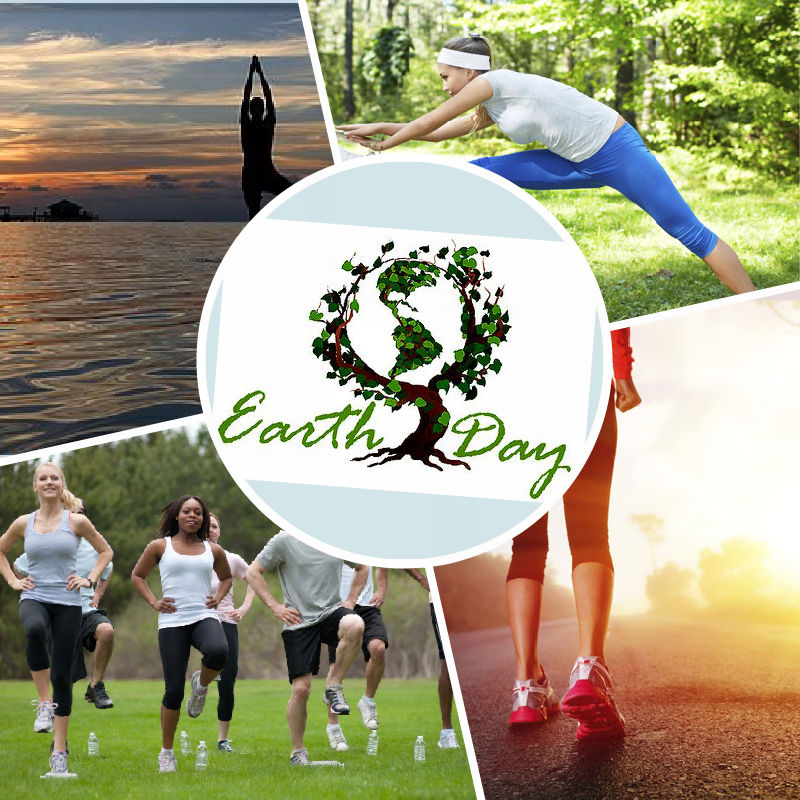Enjoy the great outdoors during your Earth Day workout!