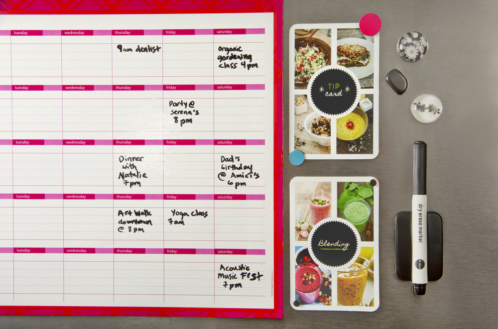 Visual healthy reminders can help you stay on track!