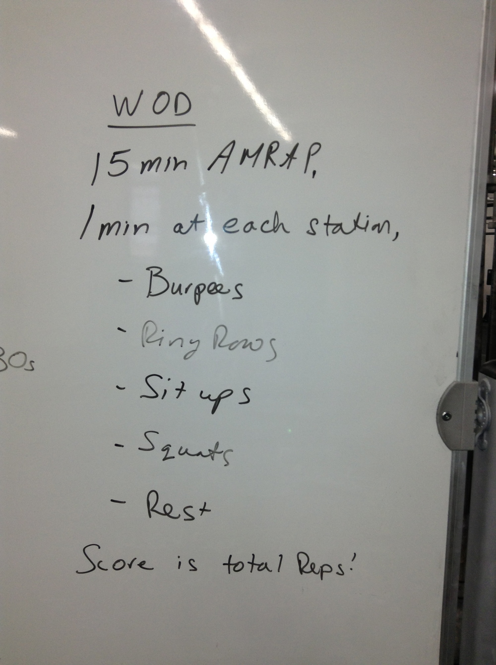 I SMASHED the WOD!