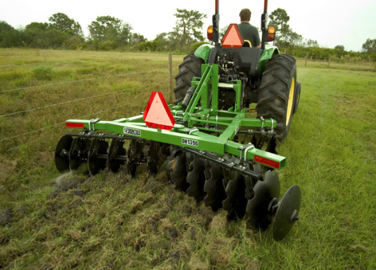 Planting summer and winter food plots help to concentrate wildlife while also improving their health and protein intake.