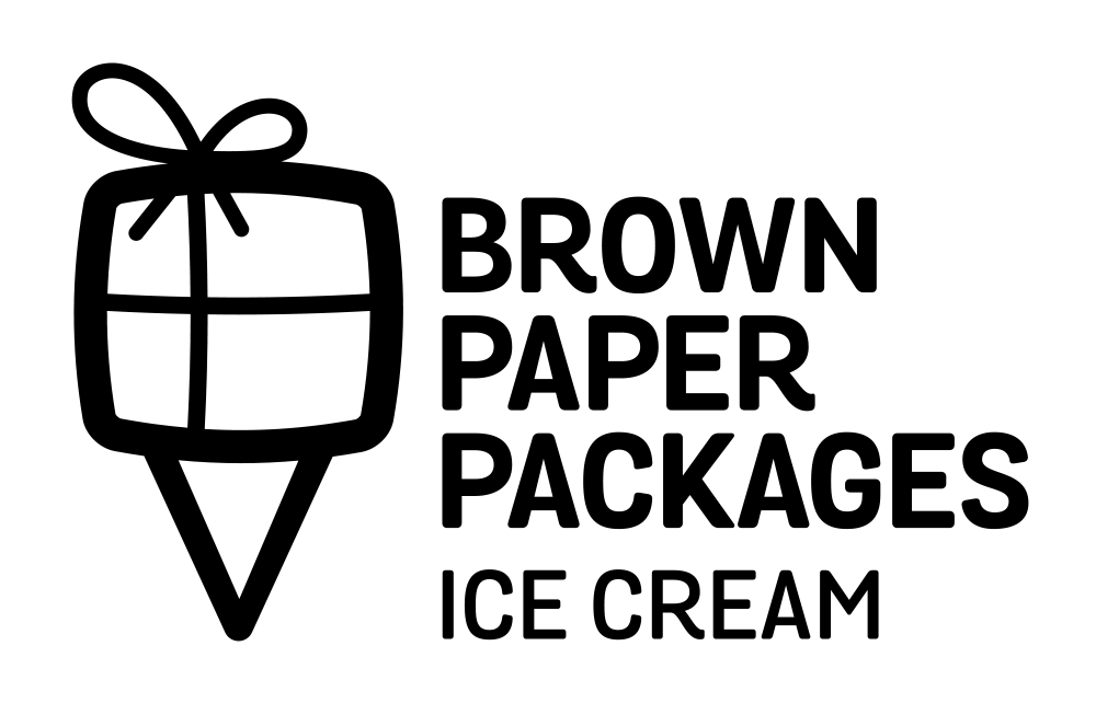 Brown Paper Packages Ice Cream