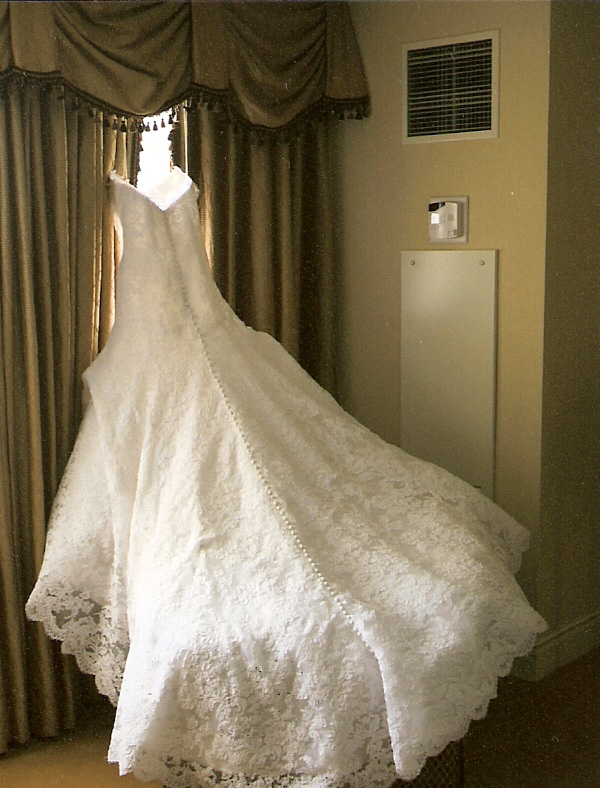 A full french corded lace wedding dress - Classic, Romantic, Regal, Modern