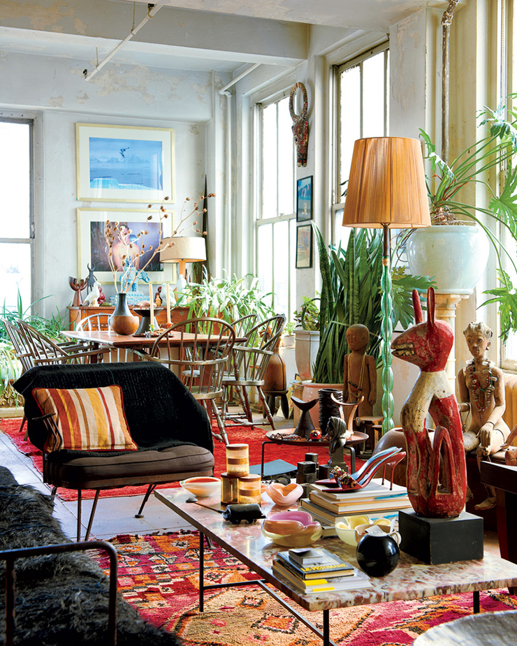 A wonderful mix of Eclecticism. Garden of Eden.  http://www.designbuildideas.eu/how-to-attain-an-eclectic-style-in-interior-design/