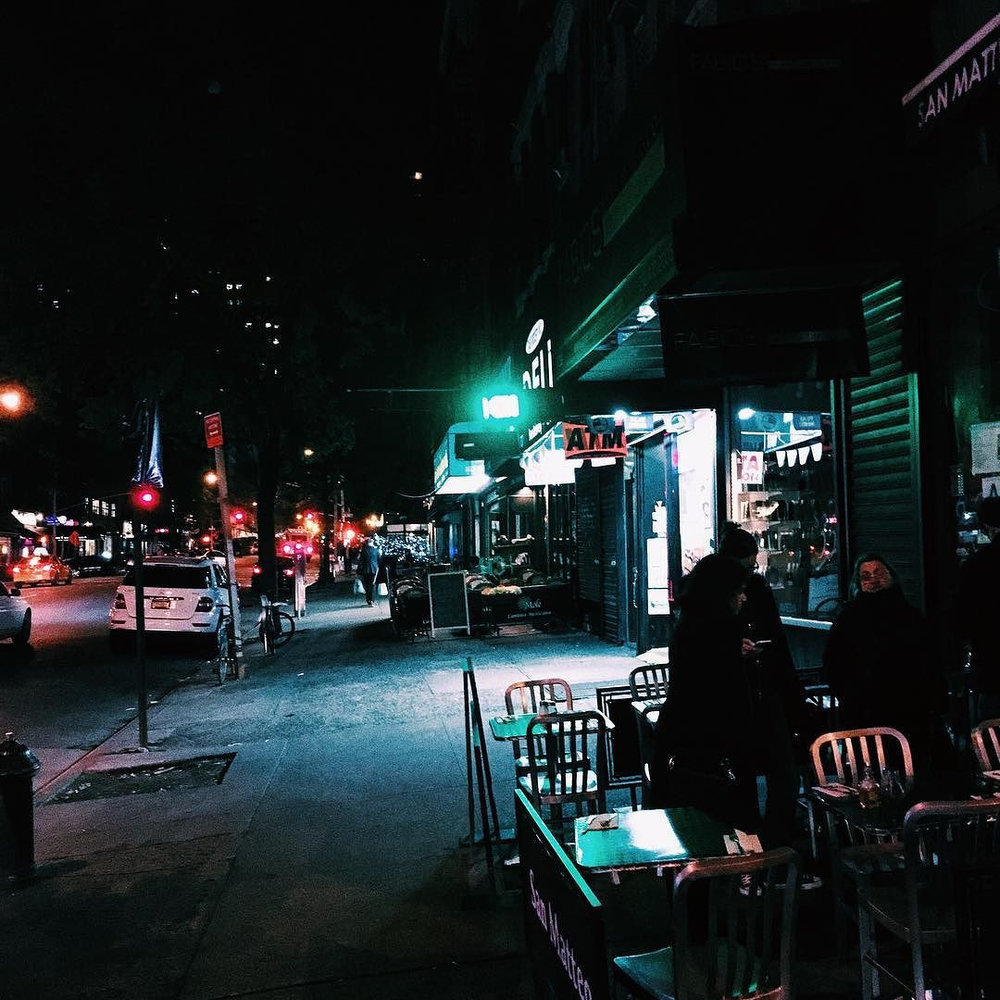 There's something amazing about New York at night.