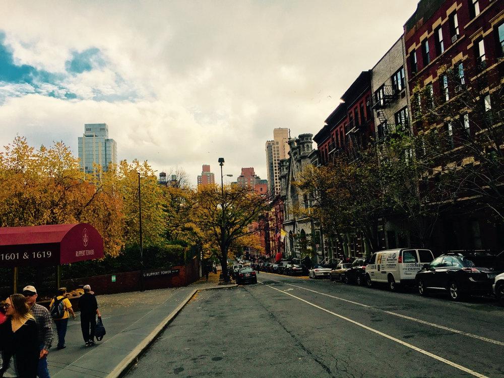 First morning run in NYC.