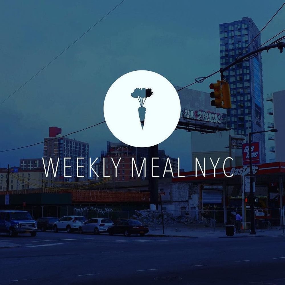 Introducing Weekly Meal. We're making and hand-delivering fresh, healthy, and super-tasty meals for the homeless of NYC every Saturday night. weeklymeal.org