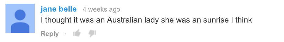 Oh, YouTube comments.