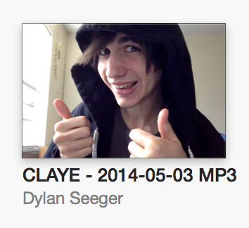 I've decided to make my work more enjoyable by adding fun album artwork to CLAYE pre-release bounces.