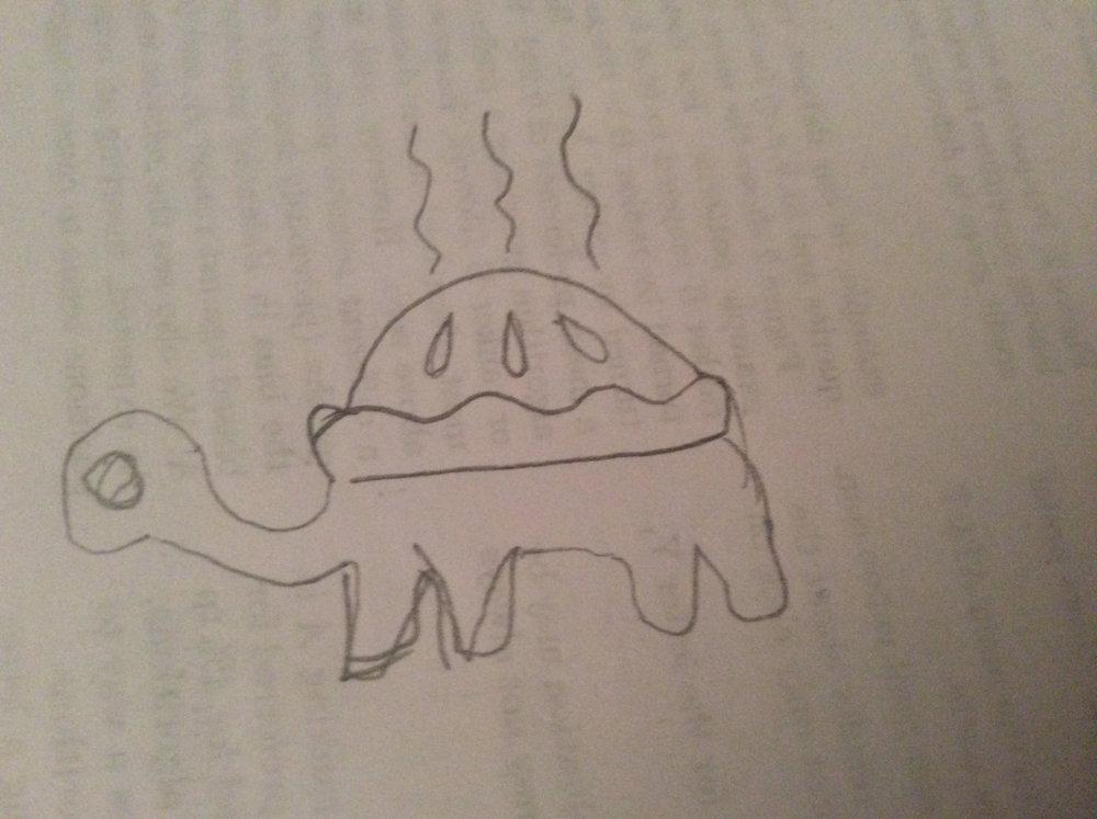 Turtle Pie sketch courtesy of @soldni