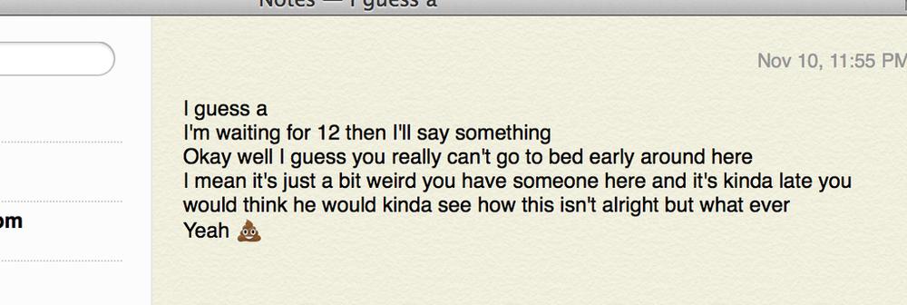 November 10, 2013