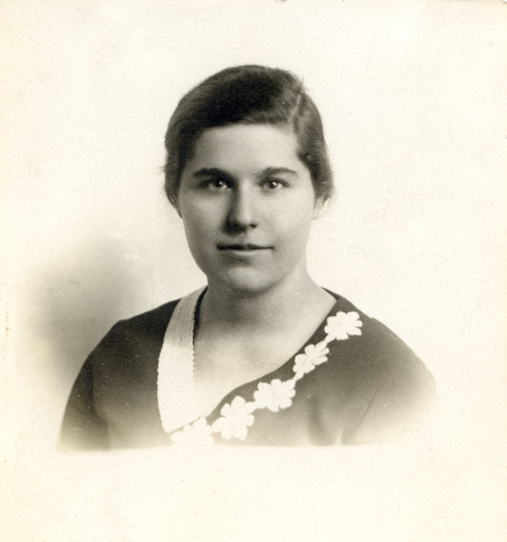 Ruth Fried Passport Photo. (c. 1930)