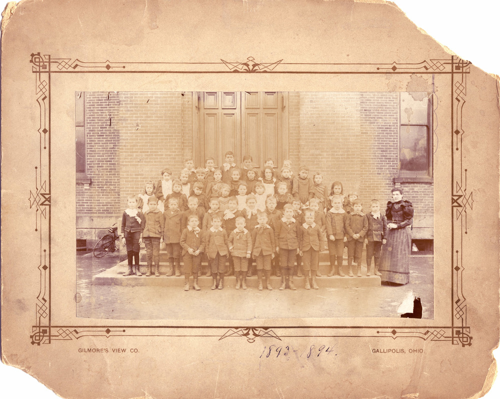 Kindergarten Photo - Gallipolis, Ohio - 1893-94