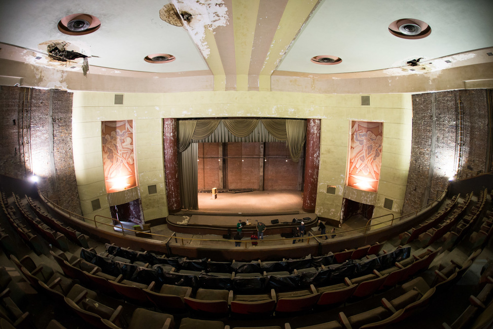 Miller Theatre Renovation, Augusta, GA -- 3/14/2015
