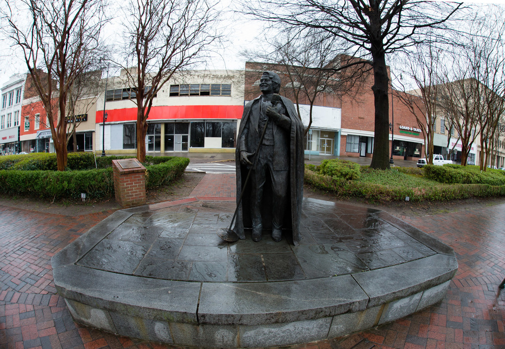 James Brown Statue, Augusta, GA -- 3/14/2015