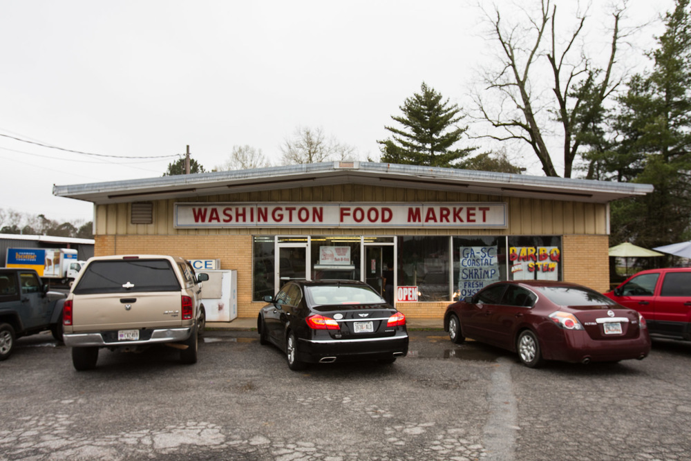 Washington Market, Washington, GA.  3/14/2015