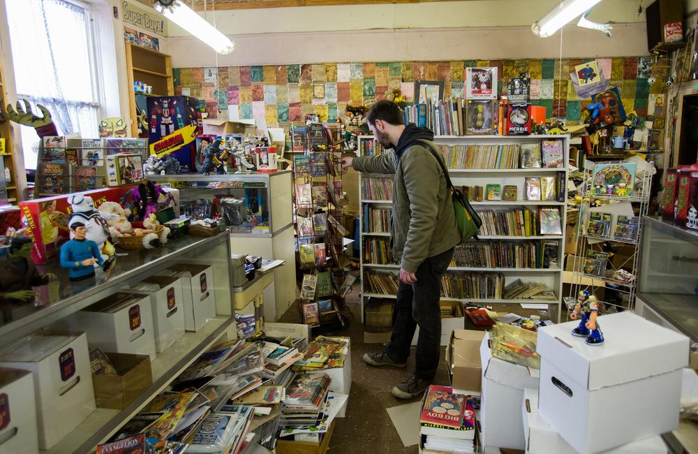 Comic Store, Athens, GA -- 3/14/2015