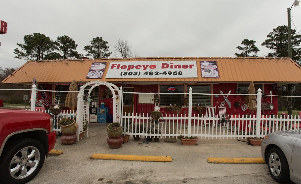 Flopeye Diner, South Falls, SC -- 3/13/2015