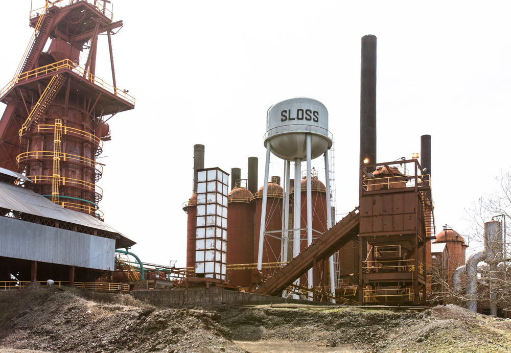 Sloss Furnaces, Birmingham, AL -- 3/15/2015