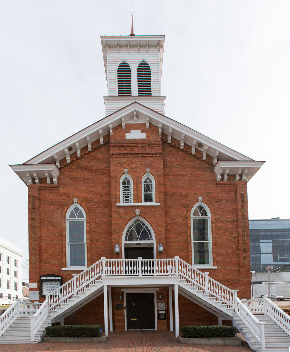 Dexter Avenue King Memorial Baptist Church, Montgomery, AL -- 3/15/2015