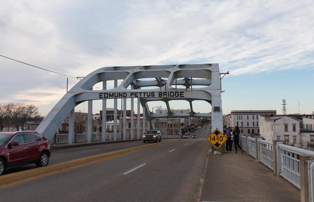 Edmund Pettus Bridge, Selma, AL -- 3/15/2015