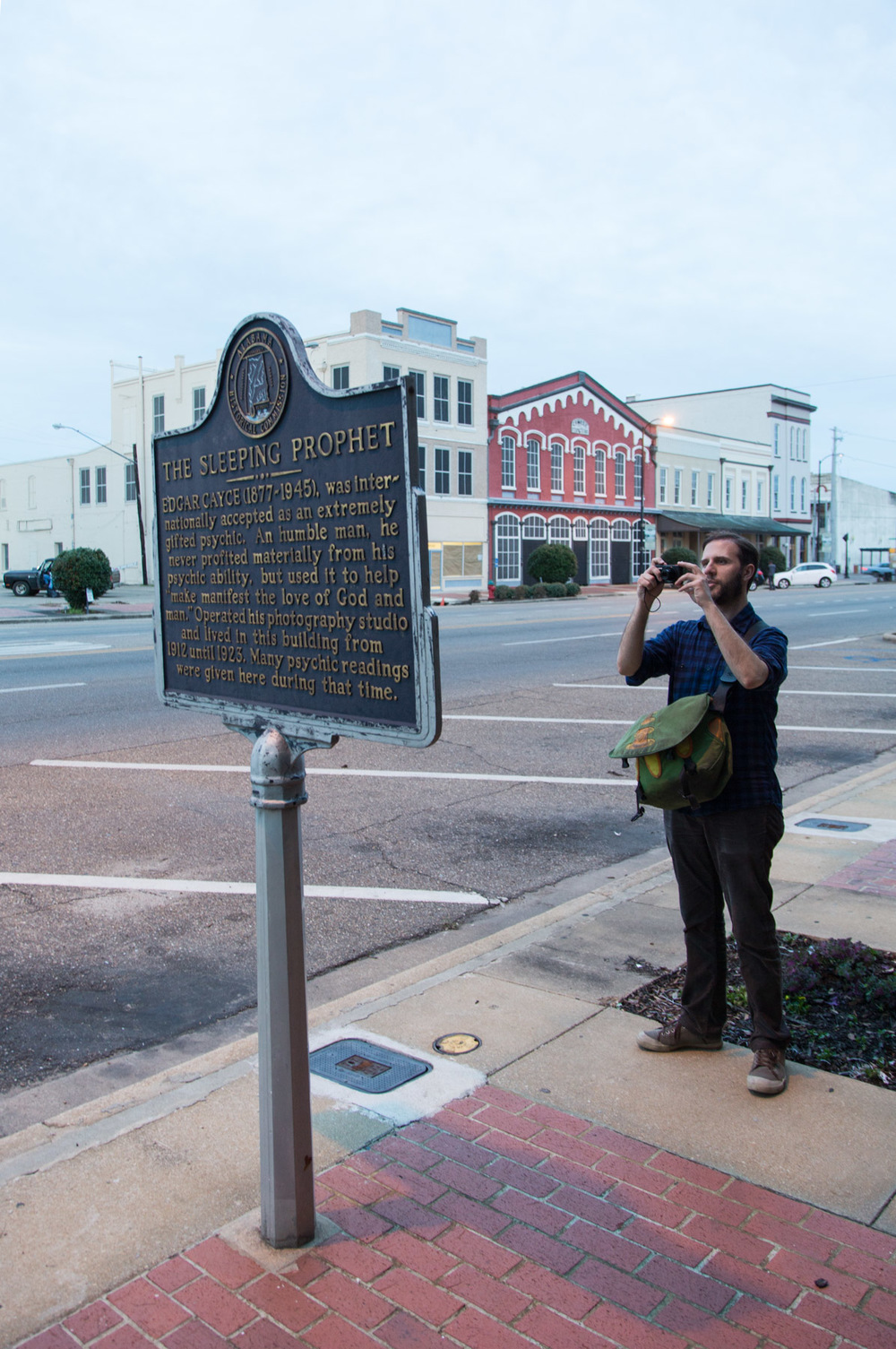 Jed on Broad Street, Selma, AL -- 3/15/2015
