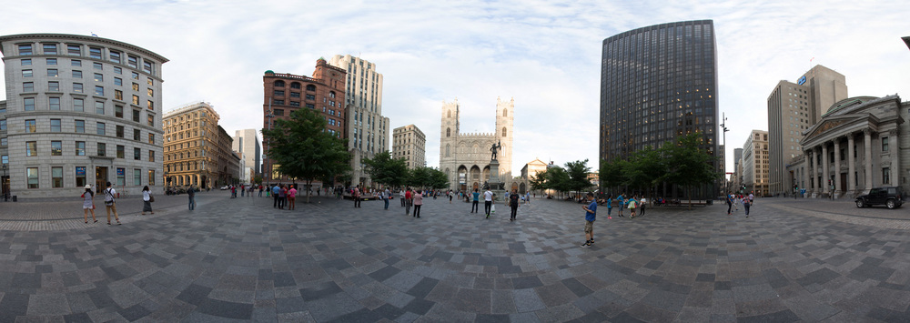 Old Montreal - 360-degree Panorama