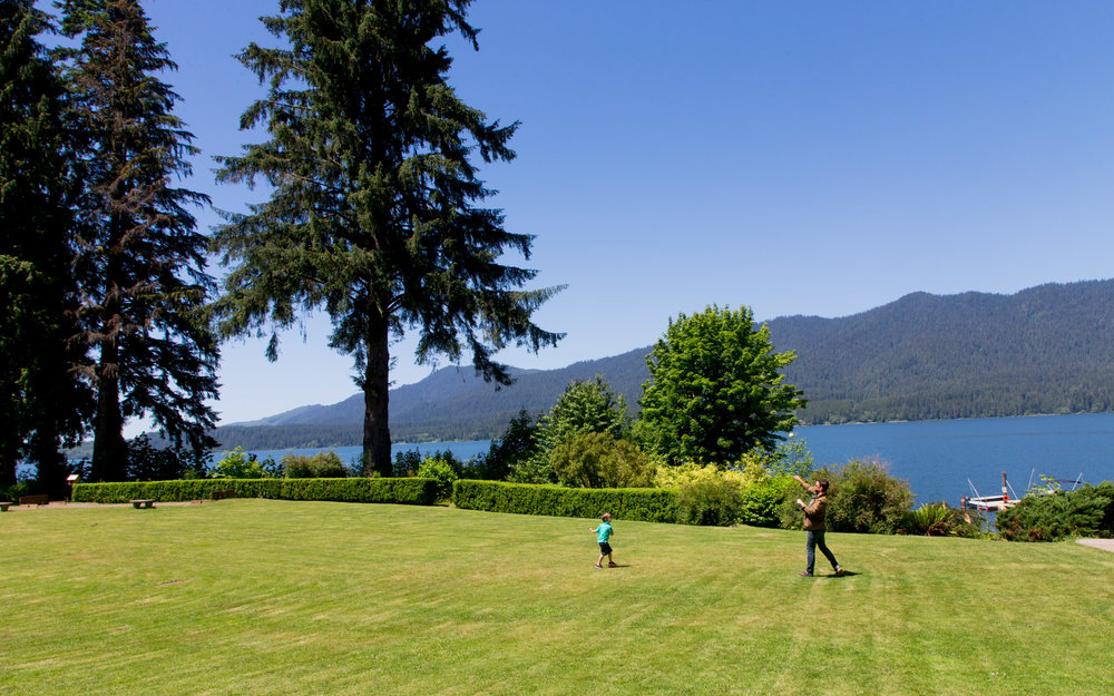 Lake Quinault Lodge at Olympic National Park