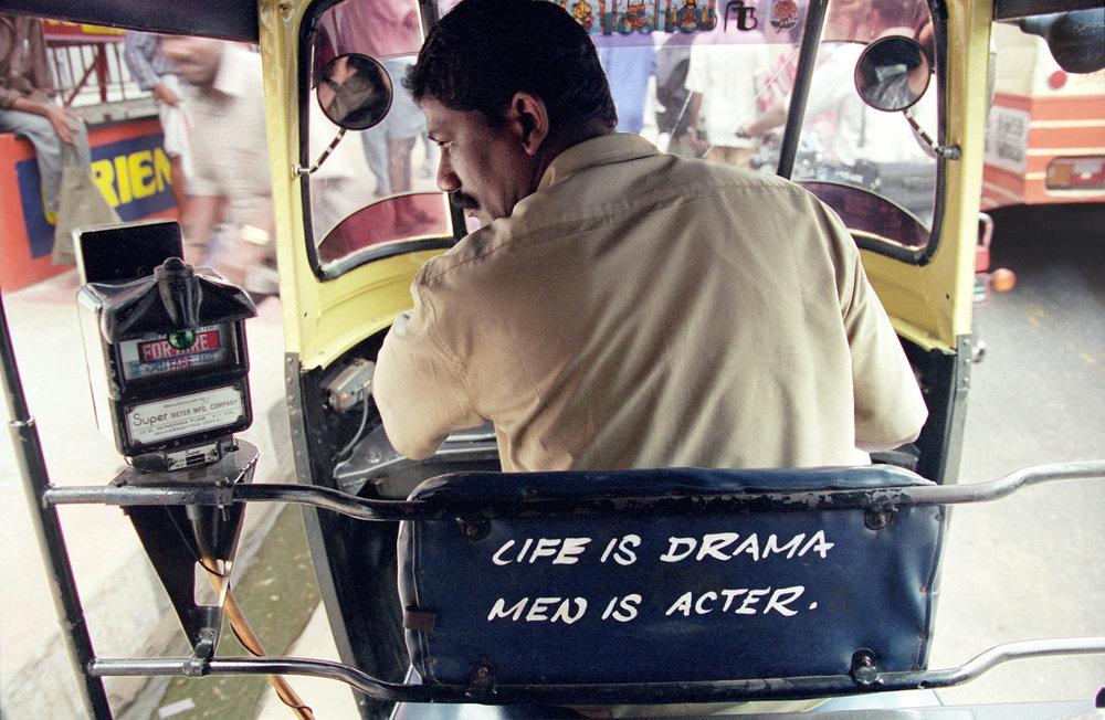 Autoricksha Driver, Madurai, 2001