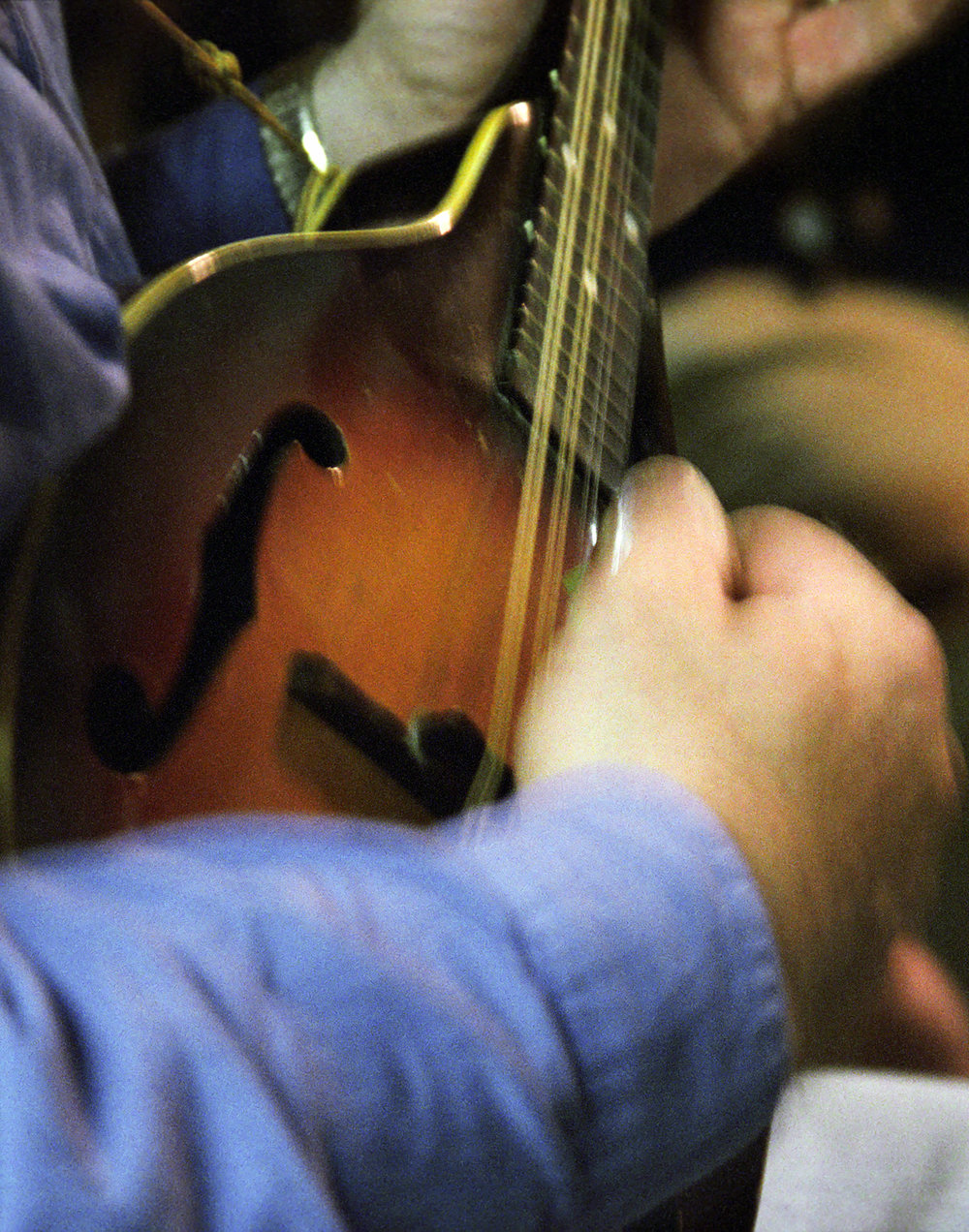 Mandolin Player, Todd Old Time Music Jam, 2001