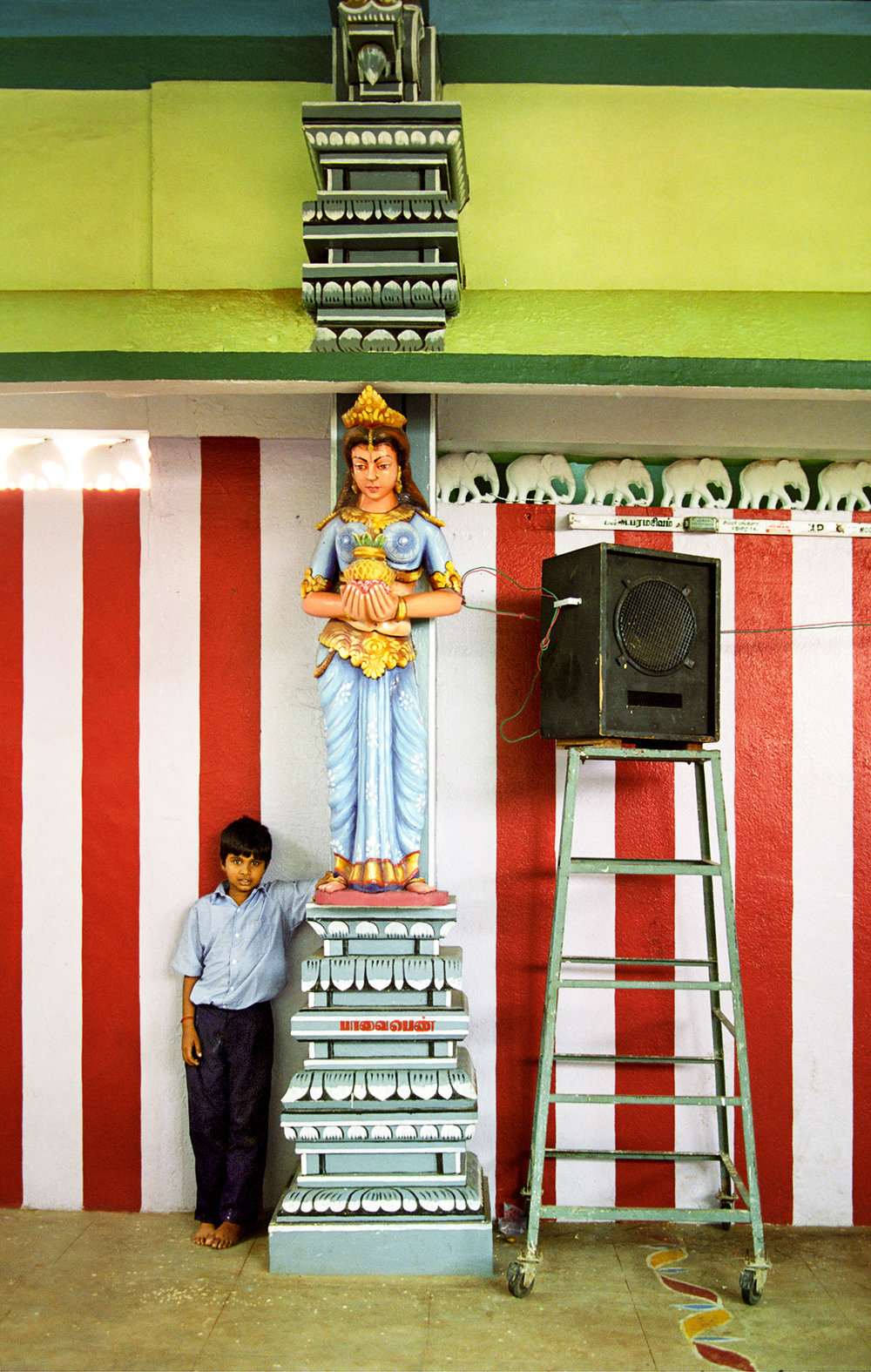 Mariyamman Temple Boy, 2001